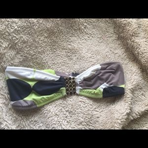 strapless bikini top